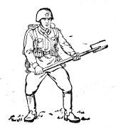 Малая пехотная лопата Tmp1ab-54