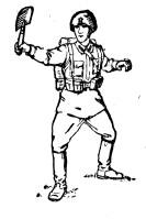 Малая пехотная лопата Tmp1ab-57