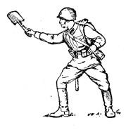 Малая пехотная лопата Tmp1ab-58