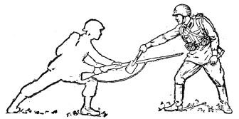 Малая пехотная лопата Tmp1ab-59