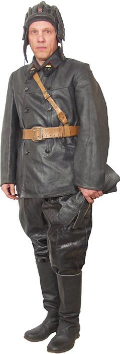 Солдаты ВОВ №14 - Офицер бронетанковых войск в походной форме, 1941–1943 гг.