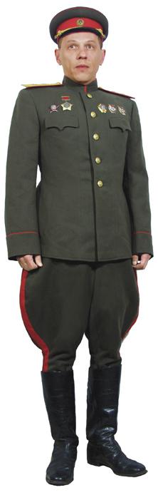 Солдаты ВОВ №59 - Генерал-лейтенант в повседневной форме вне строя, 1943–1945гг.